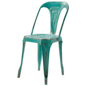 MAISONS DU MONDE - chaise verte multipl's - Chaise De Jardin