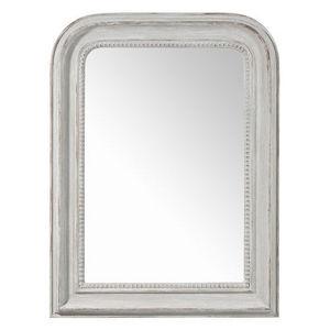 MAISONS DU MONDE - miroir elégance gris - Miroir