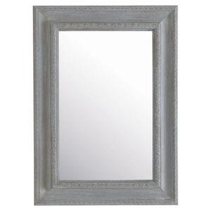 Maisons du monde - miroir léonore gris 65x90 - Miroir