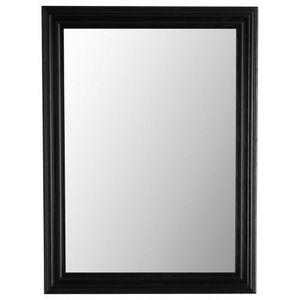 Maisons du monde - miroir napoli noir 90x120 - Miroir