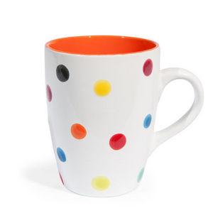 Maisons du monde - mug confetti orange - Mug