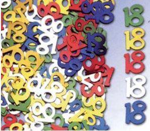 Palais de la Fête - anniversaire 18 ans - Confettis