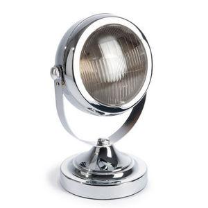 Maisons du monde - lampe car eye chrome - Lampe À Poser