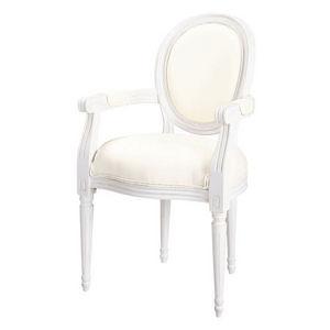 Maisons du monde - fauteuil ivoire louis - Fauteuil