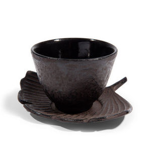 MAISONS DU MONDE - tasse et soucoupe thé gingko - Tasse À Café