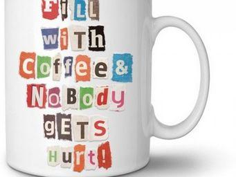 Manta Design - mug design personnalisable lettre anonyme - Mug