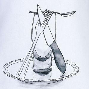 TROIS MAISON - tablier de cuisine blanc en coton - modèle bière - Tablier De Cuisine
