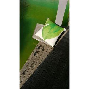 TROIS MAISON - maxi coussin de sol intérieur et extérieur feuille - Coussin Carré