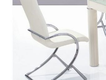CLEAR SEAT - chaises boreal blanches lot de 4 - Chaise