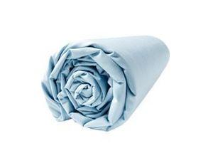 BLANC CERISE - drap housse - percale (80 fils/cm²) - uni - Drap Housse