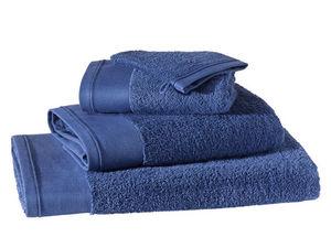 BLANC CERISE - drap de bain - coton peigné 600 g/m² - uni - Serviette De Toilette