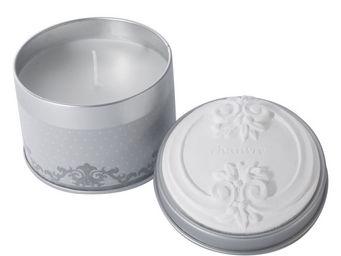 Mathilde M - bougie boîte métal ornement, parfum chanvre - Bougie Parfumée