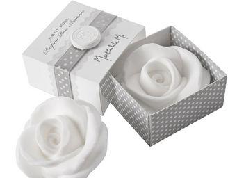 Mathilde M - savon rose (bo�te), parfum rose ancienne - Savon