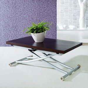 WHITE LABEL - table basse relevable noré - Table Basse Forme Originale