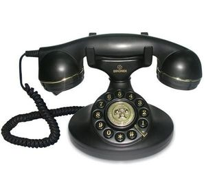 BRONDI - tlphone vintage 10 - noir - Téléphone