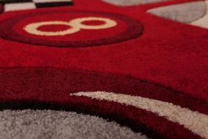 NAZAR - tapis amigo form 100x140 red - Tapis Enfant
