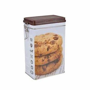 WHITE LABEL - boite à biscuits cookies - Boite À Biscuits