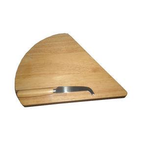 WHITE LABEL - planche à fromage en bois avec couteau - Plateau À Fromage