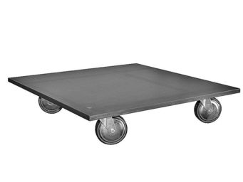 MALHERBE EDITION - table basse carrée indus - Table Basse Carrée
