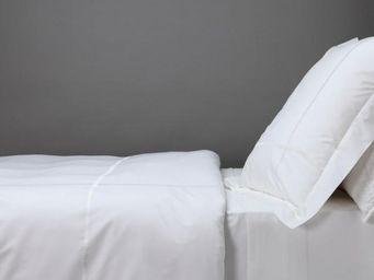 BLANC D'IVOIRE - charles - parure de lit blanc - Parure De Lit