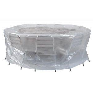 RIBILAND by Ribimex - housses pour tables et chaises ecoplatinium ribila - Housse De Protection Mobilier De Jardin