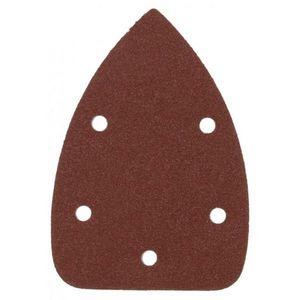 RIBITECH - lot de 10 patins pour ponçeuse triangulaire ribite - Disque Abrasif