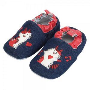 La Chaise Longue - chaussons bébé petits chats gm - Chausson D'enfant
