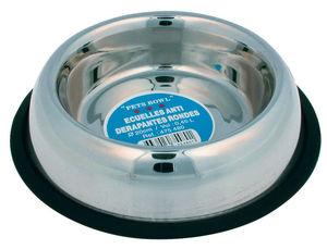 ZOLUX - gamelle ronde 20cm antid�rapante en inox 0,45 litr - Gamelle