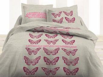 TODAY - housse de couette et taies d'oreiller butterflies - Housse De Couette
