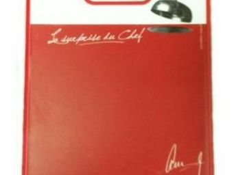 Cm - planche �d�couper message - couleur - rouge, form - Planche � D�couper