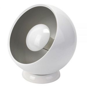 La Chaise Longue - lampe design cosmo blanche - Lampe À Poser