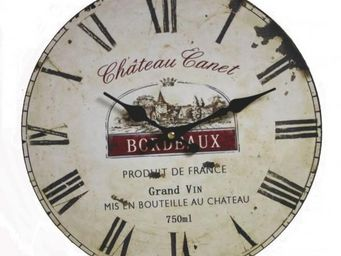 L'HERITIER DU TEMPS - horloge de gare industrielle ø34cm - Horloge Murale