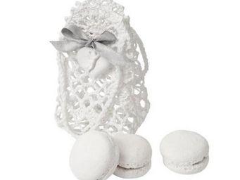 Mathilde M - ambiance parfumée - pochon en mailles d'autrefois - Céramique Parfumée