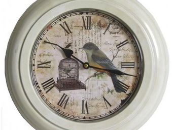 L'HERITIER DU TEMPS - horloge hublot blanche ø33cm - Horloge Murale