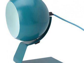 La Chaise Longue - lampe olga bleue - Lampe À Poser