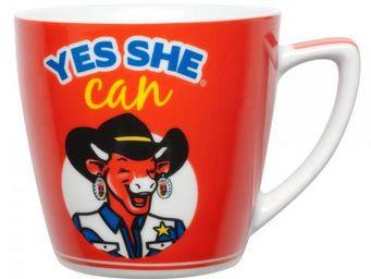 La Chaise Longue - set petit d�jeuner la vache qui rit us - Mug