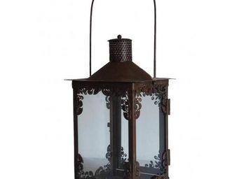 L'HERITIER DU TEMPS - lanterne à suspendre en fer - Lanterne D'extérieur
