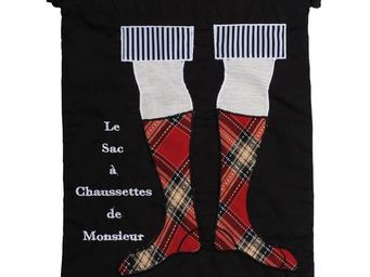 La Chaise Longue - sac � linge chaussettes - Sac � Linge