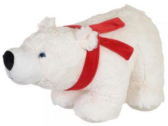 La Chaise Longue - peluche ours blanc gm - Peluche