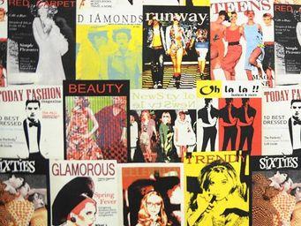 Le Quartier des Tissus - tissu imprime fashion glamour - Tissu Imprim�