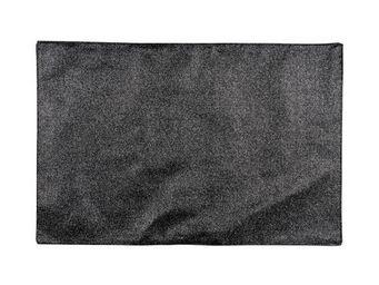 La Chaise Longue - set de table paillete noir - Set De Table