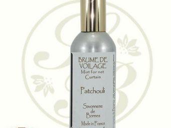 Savonnerie De Bormes - brume de voilage - patchouli - 100 ml - savonnerie - Parfum D'intérieur