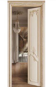 Koziel - perspective haussmann escalier - Lé Unique De Papier Peint