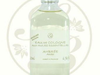 Savonnerie De Bormes - eau de cologne aux huiles essentielles - ambrée - - Parfum D'intérieur