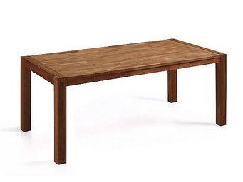 BELIANI - natura - Table De Repas Rectangulaire