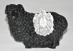 Demeure et Jardin - bougie mouton noir brillant - Bougie Décorative