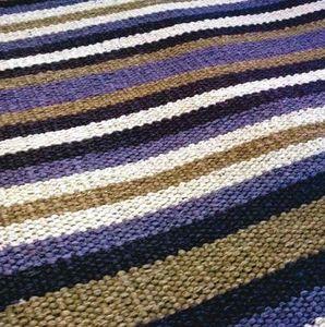 Codimat Co-Design - kilim lines violet - Moquette