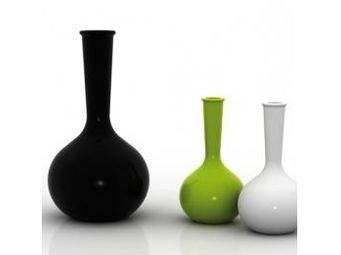 VONDOM - vase vondom chemistubes flask, mate - Vase À Fleurs