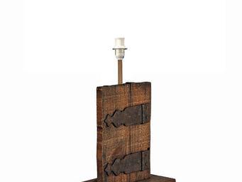 Interior's - pied de lampe ferrure - Pied De Lampe