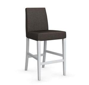 Calligaris - chaise de bar latina de calligaris argile et hêtre - Chaise Haute De Bar